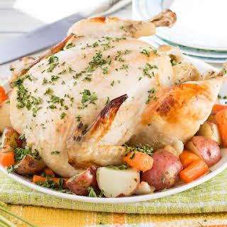 Ranch Dutch Oven Roast Chicken in Oven Bag.
