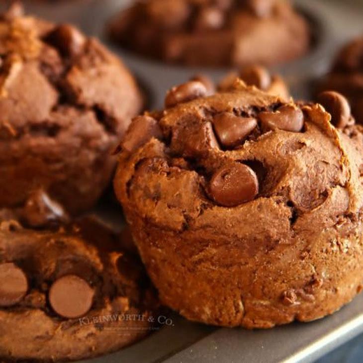 Peanut Butter Chocolate Pumpkin Muffins Recipe