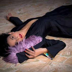 Fashion by Denis Sinoussi - People Fashion ( marble, fashion, makeup, dress, hairstyle, jewelry, fashion photography )