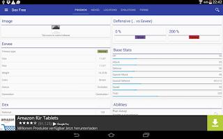 Screenshot of Pokedex