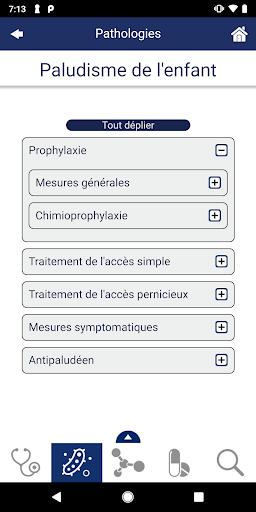 Guide de Thu00e9rapeutique 1.1.2 screenshots 3