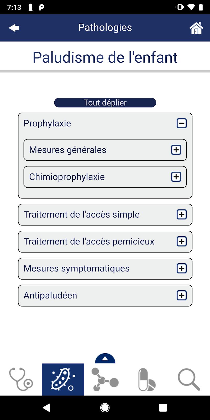 Guide de Thérapeutique Screenshot 2