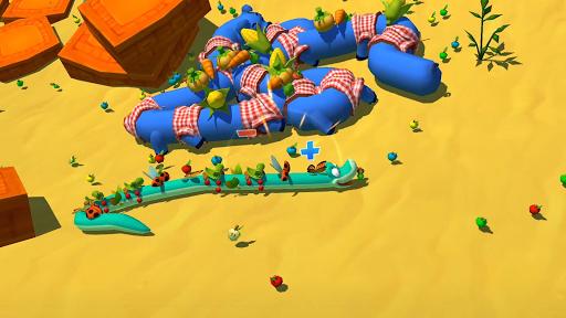 Snake Rivals - New Snake Games in 3D apktram screenshots 2