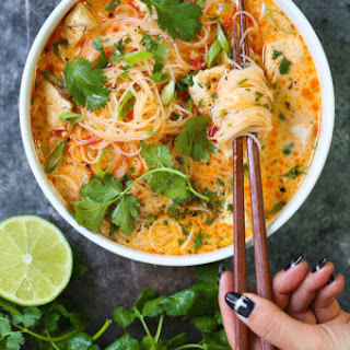 Thai Red Curry Noodle Soup Recipe