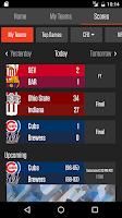 Screenshot of Team Stream by Bleacher Report