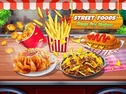 Street Food: Deep Fried Foods Maker Cooking Games 1