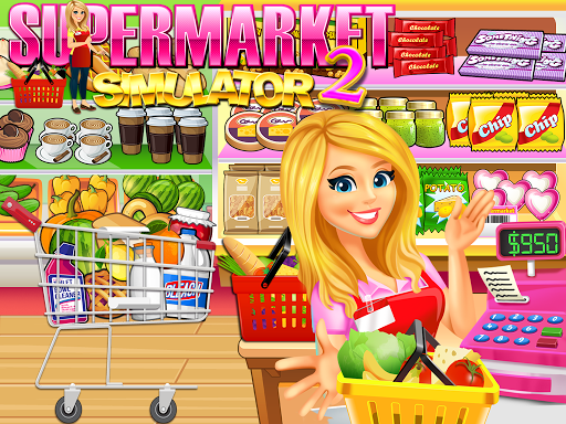 Supermarket Grocery Store Girl - Supermarket Games filehippodl screenshot 2
