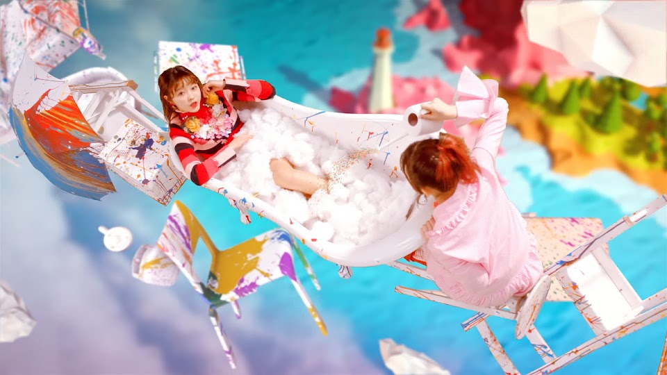 bathtub - oh my girl coloring book