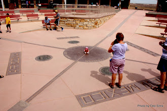 Photo: (Year 3) Day 46 - Pippa at the Four Corners - Utah, Colorado, New Mexico and Arizona Meet #2