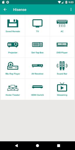 Hisense TV Remote Control App 1.5 androidtablet.us 1