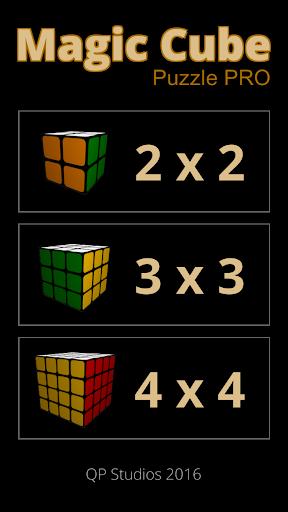 Magic cube puzzle Pro