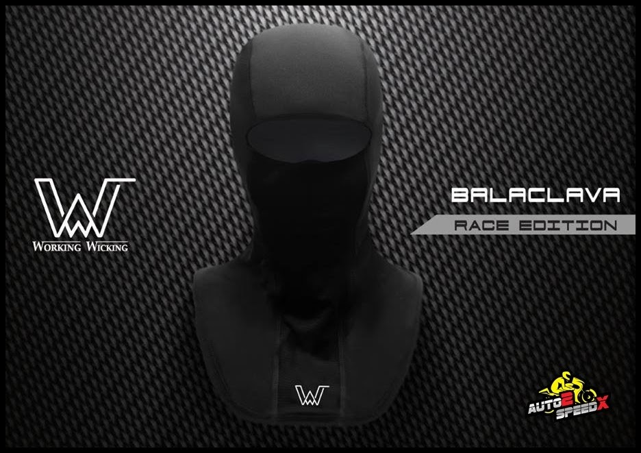 Working Wicking  โม่ง RACE ผ้าคลุม BALACLAVA Mask Race edition