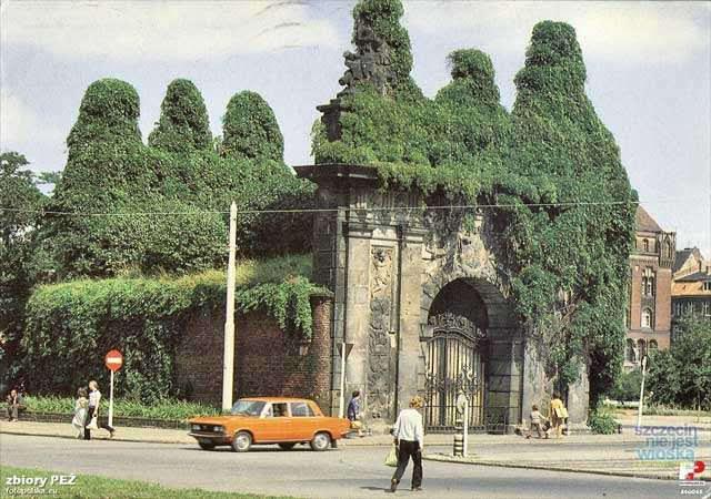 Brama królewska Szczecin