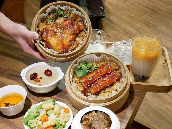 呷七碗 - 台北永康街傳統小吃大集合,台灣必吃美食一間店全部能吃到,比臉大的雞腿油飯吃完直接飽兩餐