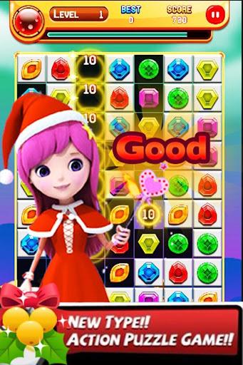 크리스마스 보석 퀘스트 매치 Jewel Match 3