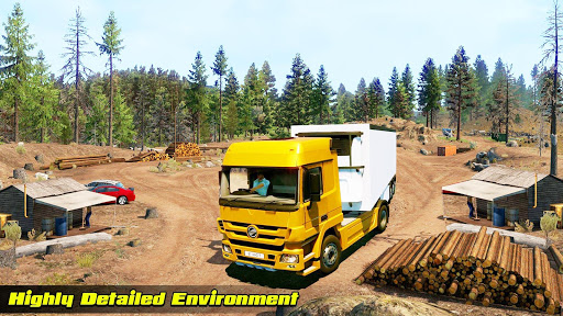 Speedy Truck Driver Simulator: Offroad Transport  screenshots 13