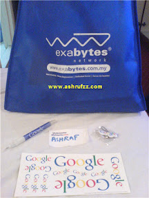 Goodies from Exabytes and Google