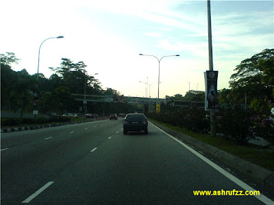 Jalan Duta Stretch the day before Hari Raya 2007