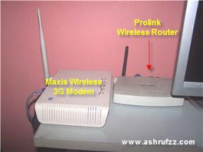Maxis Wireless Broadband Wi-Fi Setup