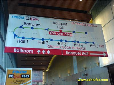 KLCC PC Fair 2007 Road Map