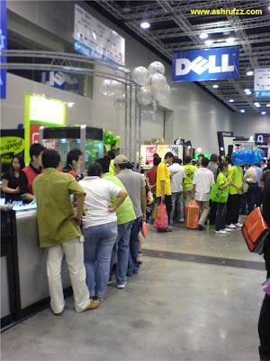 KLCC PC Fair 2007 Maxis Broadband Booth