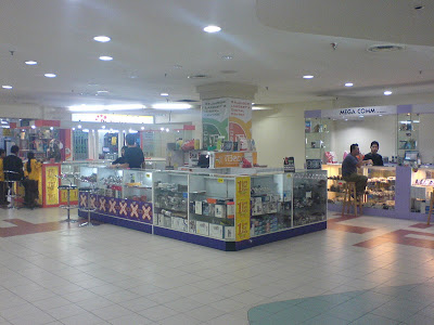The Handphone Shop Where I bought my W810i