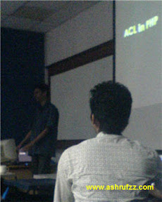ACL in PHP Presentation