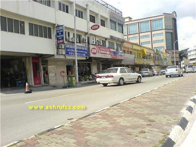 Rows of Shop at Batu 5 Jln Ipoh