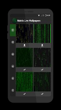 Matrix Live Wallpapers Poster