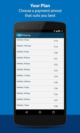 Free Mobile Recharge 1.0.58 screenshot 277917
