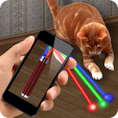 Laser Point 100 Beams Cat Joke