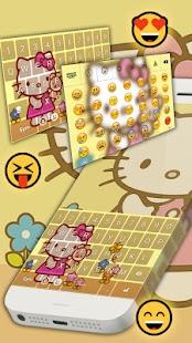 Kitty Keyboard Emoji - náhled