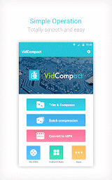 Video to MP3 Converter,Video Compressor-VidCompact Apk Download Free for PC, smart TV