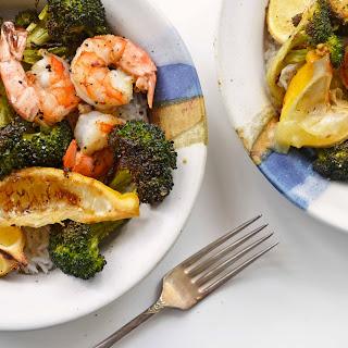 Spicy Roasted Shrimp & Broccoli