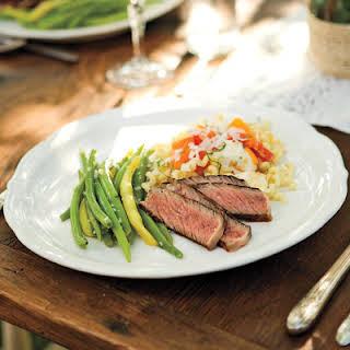 Grilled Rib-Eye Steak.