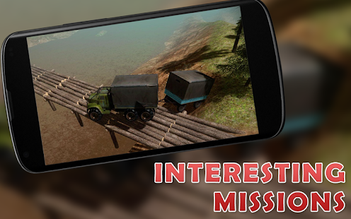 Delivery Truck Driver : Offroad Cargo Transport 3D - náhled