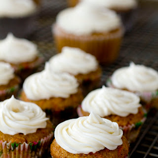 Mini Carrot Spice Cupcakes