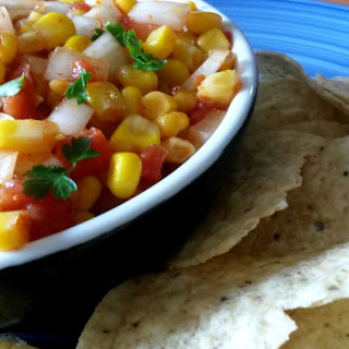 5-Minute Corn Salsa