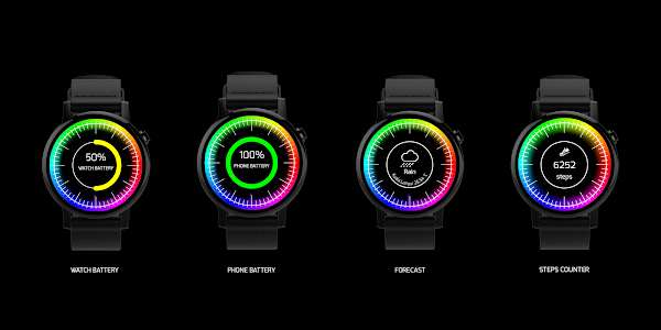 Chroma Watch face screenshot 6