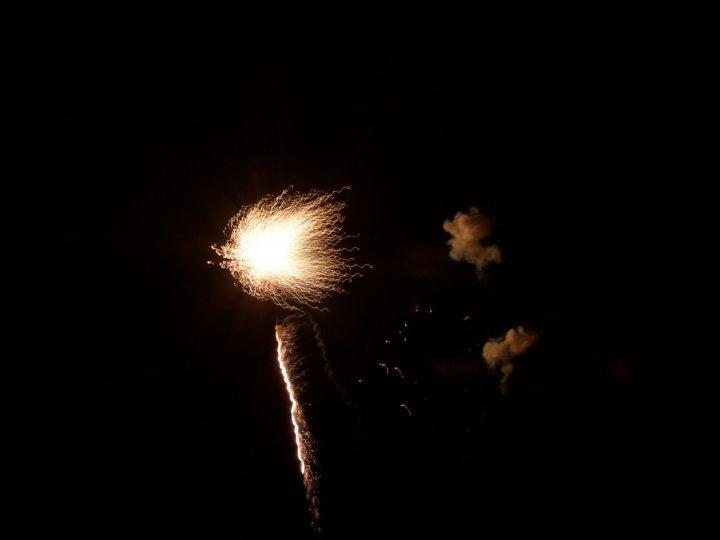 fuochi d'artificio lettera i di mbclik