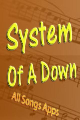 All Songs of System Of A Down