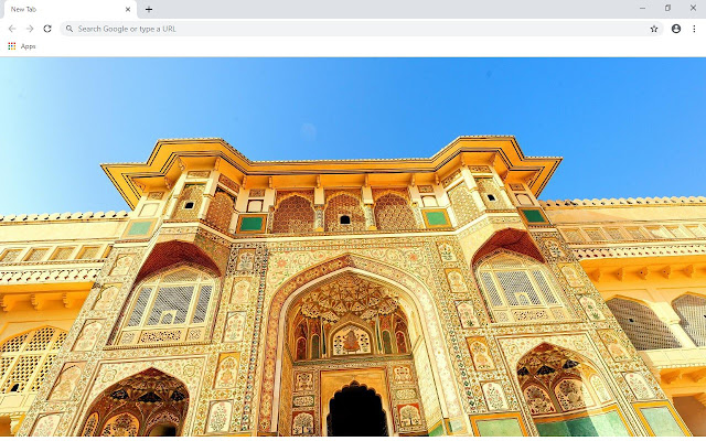 Jaipur New Tab & Wallpapers Collection