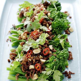 Thai-Style Sticky Pork and Broccolini