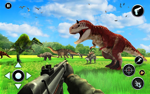 Dinosaur Hunter Free Wild Jungle Animals Safari  screenshots 2