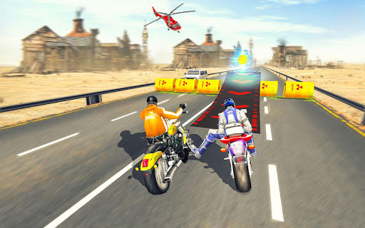 Bike Attack Race : Highway Tricky Stunt Rider 5.1.03 screenshots 13