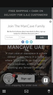 ManCave UAE- screenshot thumbnail