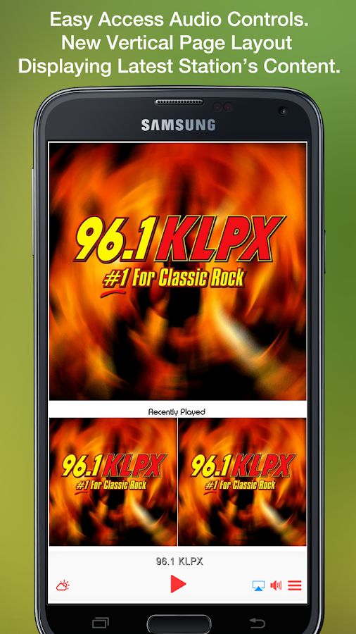 96.1 KLPX- screenshot