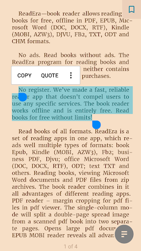 ReadEra - book reader pdf, epub, word screenshot 3
