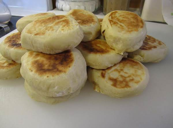 Super Easy English Muffins Recipe