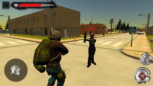 Halloween Town - Tir au zombie cible morte APK MOD – ressources Illimitées (Astuce) screenshots hack proof 2